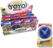 JO-JO dětské kovové yoyo 6cm 3 barvy v krabičce