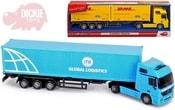 Auto nákladní 39cm Cargo kamion 1:43 modrý plast