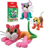 Cat kočička 36g samotvrdnoucí plastelína 6 druhů v krabičce