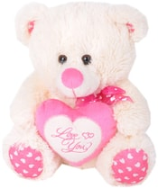 Medvídek 27cm se srdíčkem Love You