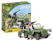 Stavebnice JEEP Willys MB zelený, 90 k, 1f