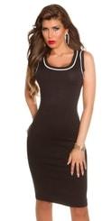 Úpletové šaty dámské in-sat1262bl
