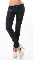 Dámské slim jeans st-ri436