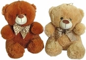 Medvídek Mazlík 25cm s mašličkou 2 barvy