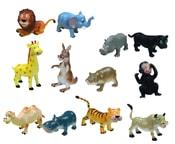 Zvířata veselá divoká 12 cm