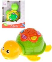 Želva 12cm na baterie projektor s melodiemi Baby´s Happiness Světlo Zvuk 2 barvy