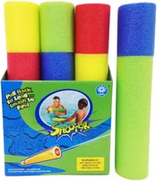 Vodní soft měkká pěnová trubice 34cm do vody 4 barvy