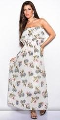 Letní šaty s potiskem in-sat1254wh