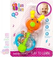Chrastítko plastové BROUČEK pro miminko