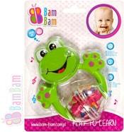 Chrastítko plastové ŽABKA pro miminko