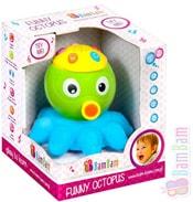 Chobotnice dětský baby projektor s ukolébavkou hvězdná obloha Zvuk