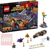 SUPER HEROES Spiderman: Ghost Rider vstupuje do týmu 76058