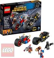 SUPER HEROES Batman: Motocyklová honička v Gotham City STAVEBNICE 76053