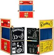 Čtyřkombinace 4v1 Divadlo Pošta Obchod Tabule set
