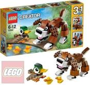 CREATOR 3v1 Zvířátka v parku 31044