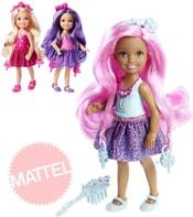Barbie panenka dlouhovláska set s hřebenem a doplňky