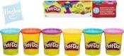 PLAY-DOH Modelína zářivé barvy set 6 kelímků dětská modelovací hmota