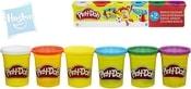 PLAY-DOH Modelína základní barvy set 6 kelímků dětská modelovací hmota