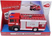 Auto Man SOS Fire Engine hasiči 17cm plastové