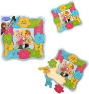 Puzzle dětské nástěnné hodiny Frozen Ledové Království