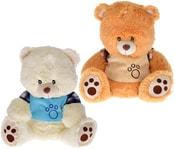 Baby medvídek v tričku 33cm 2 barvy