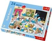 PUZZLE 24 dílků Šmoulové ve škole 14132