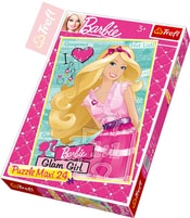 PUZZLE Barbie půvabná 24 dílků 40x60cm 114183