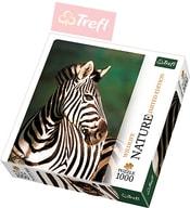 PUZZLE Divoká příroda (limitovaná edice) Zebra 1000 dílků 48x68cm 110504