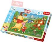 PUZZLE Disney Medvídek Pú: Sklizeň ovoce 24 dílků Maxi 60x40cm 114136
