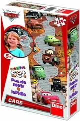 Autíčko Cars Metr 150 dílků puzzle