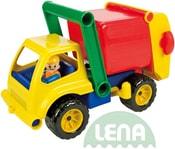 Auto plastové 30cm aktivní popeláři set s panáčkem 4156