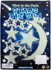 Hvězdičky svítící ve tmě DEKORACE NA ZEĎ