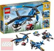 CREATOR Vrtulník se dvěma vrtulemi 3v1 31049