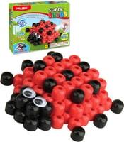 Super Beads Jumbo 3d Beruška set korálky 100ks s doplňky v krabičce
