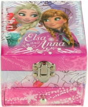 Šperkovnice dětská růžová čtvercová šuplíček Frozen Ledové Království