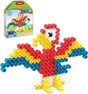 Super Beads Papoušek set korálky 200ks s doplňky v krabičce