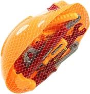 Nářadí dětské plastové set ochranná helma s nástroji v síťce
