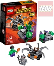 SUPER HEROES Mighty Micros: Hulk vs. Ultron 76066