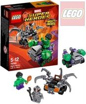 SUPER HEROES Mighty Micros: Hulk vs. Ultron 76066