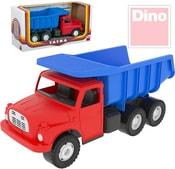 Tatra T148 klasické nákladní auto na písek 30cm modro-červená sklápěcí korb
