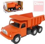 Tatra T148 klasické nákladní auto na písek 30cm oranžová sklápěcí korba