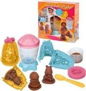Výroba čokoládových figurek dětský kreativní set s formičkami a doplňky v krabic