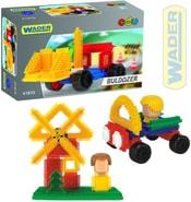 Kostky Ježci dětská stavebnice v krabici 6 druhů 41910