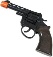 Pistole plastová 18cm na kapsle 8 ran KAPSLOVKA v sáčku