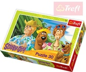 PUZZLE Scooby Doo na prázdninách 30 dílků 27 x 20 cm 118197
