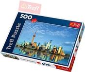 PUZZLE Šanghaj 500 dílků 48x34cm 137163