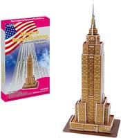 PUZZLE 3D Skládačka slavné stavby Empire State Building 23 dílků v krabici