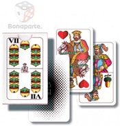 Hra karetní Mariáš dvouhlavý mini
