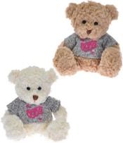 Medvídek 20 cm ve svetru sedící