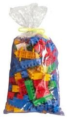 Kostky Bobo plastové set 100ks v sáčku s doplňky